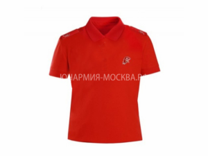 Рубашка-поло Юнармия красный