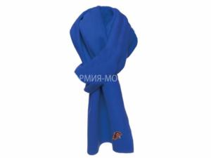 Шарф флисовый Юнармия синий